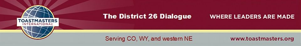 District 26 Dialogue